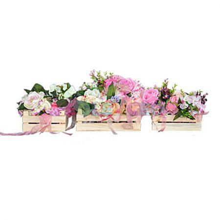 Çiçekli dekoratif Kasa