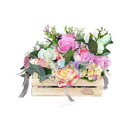 Çiçekli dekoratif kasa büyük