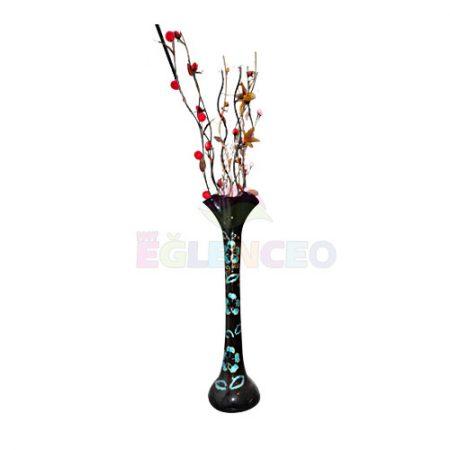 Dekoratif Çiçekli Vazo