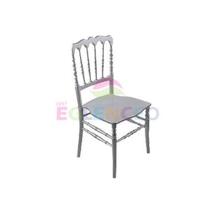 napolyon-sandalye-gumus-renk
