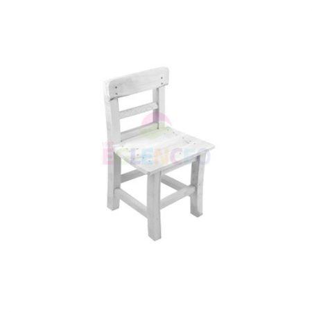 Ahşap Çocuk Sandalyesi Beyaz