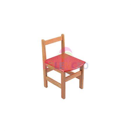 Ahsap Çocuk Sandalyesi Renkli