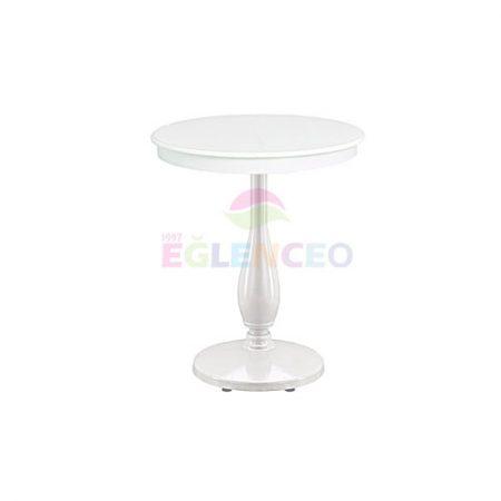 Beyaz Bistro Masa