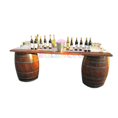 Fıçılı bar masası