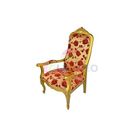 Güllü nikah sandalyesi