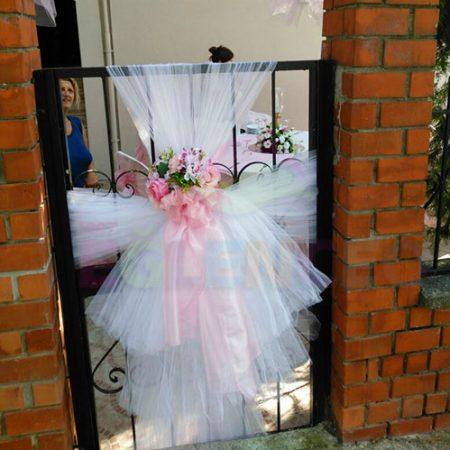 Kapı Tül Süsleme