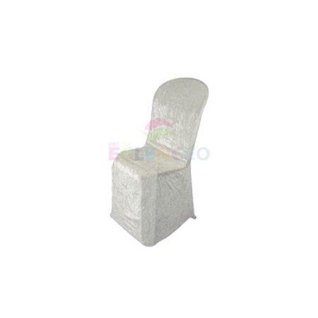 Krem Streç Örtülü Sandalye