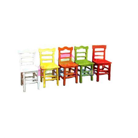 Renkli Kır Sandalyesi