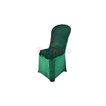 Yeşil Streç Örtülü Sandalye