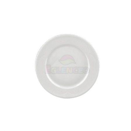25 cm çizgili düz tabak