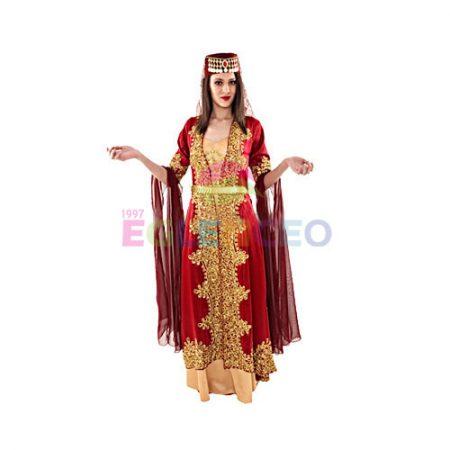 kadın osmanlı kıyafeti