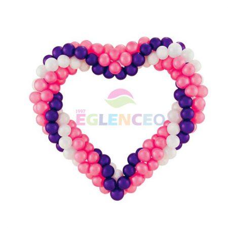 Morlu-Karisik-Renk-Balon-Kalpler-Balonlar